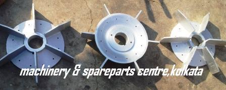 90 KW 315 Frame Motor Aluminum Cooling Fan