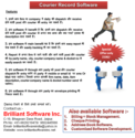 Courier Record Software