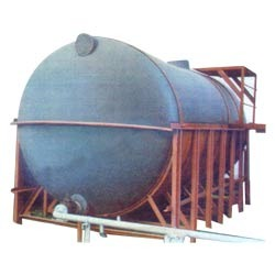 Cylindrical Chemical Storage Tank