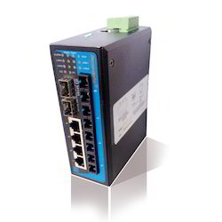 Industrial DIN-Rail Managed Ethernet Switches(4TP 4F 4G )