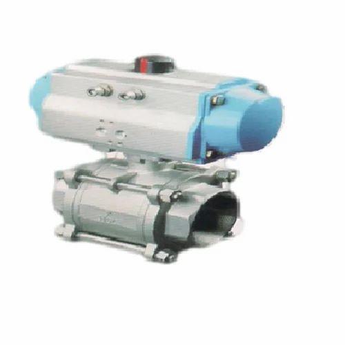 Pneumatic Actuator Ball Valves