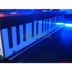 Acrylic MDF Bar Counter