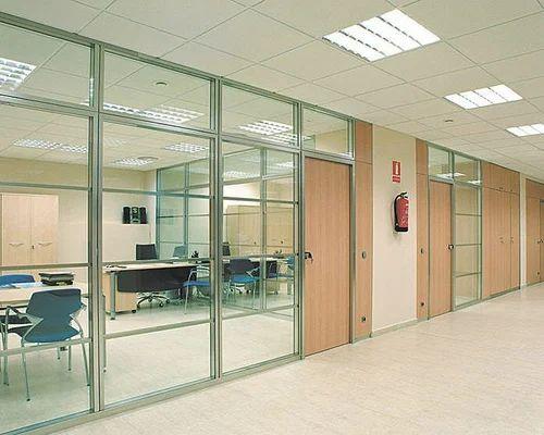 Glass Partition Aluminum Glass Partition Service