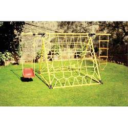 Climbing Net Scrambler with Swing And Rope Ladder