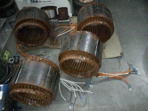 repair rewinding of alternator Caseys auto electric, starters, alternators, 6 volt, 12 volt, 24 volt, 36 volt, electric, motors.