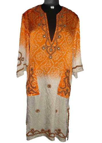 Ladies Long Kaftan Dress