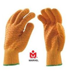 Marvel - Criss Cross Cotton Knitted Seamless Gloves