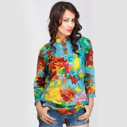 Floral Printed Ladies Tunics