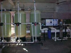 2500 LPH FRP RO Plant