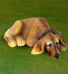 Dog Made Of Fiber