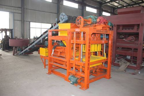 Cement Block Making Machine Stationary