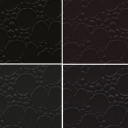 Black PVC Leather Cloth