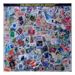 1000 World Stamps