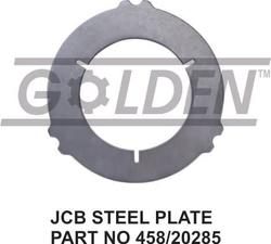 JCB Counter Plate 458/20285