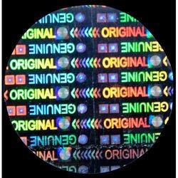 Original Genuine Hologram Labels