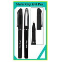 Metal Clip Gel Pen
