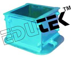 Cube Mould, with Base Plate