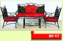 Metal Sofa Set 3-1-1 (SF-17)