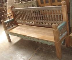 Vintage Repurposed Bench