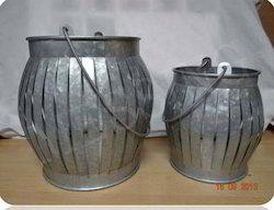 Round Handle Lanterns Set