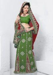 Ethnic Lehenga Embroidered Designer Sarees