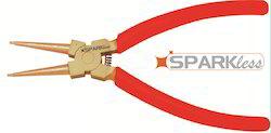 Non Sparking Internal Circlip Plier