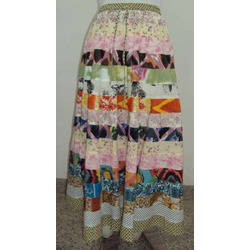 Printed Tier Skirts