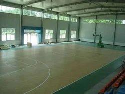 Synthetic Basketball Flooring