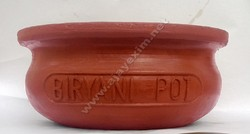 Matka Biryani Pot - Logo on Side