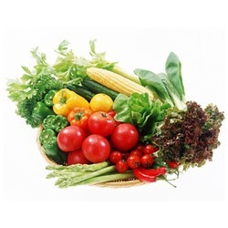 Range Of Organic Vegetables