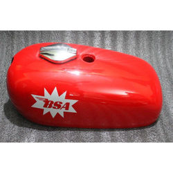 bsa a65 spitfire hornet gas fuel petrol tank painted decals
