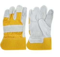 natural split leather canadian gloves