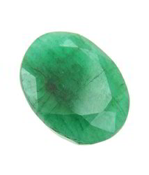 shopping oval faceted emerald gemstone