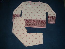 Ladies Knitted Pajama