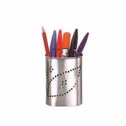 Stainless Steel Pen Holder