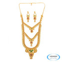One Gram Gold Plated Necklace Set