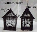 Black Hanging Cage Wire