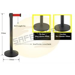 Powder Coated Retractable Queue Manager