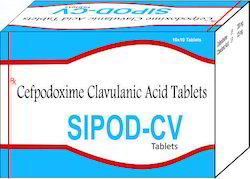 Cefpodoxime Clavulanic Acid Tablet