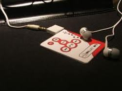 Business Card MP3 Player