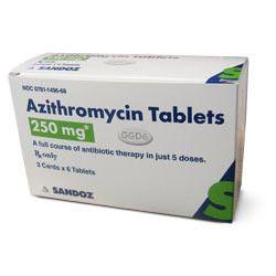 Azithromycin 500mg single dose
