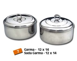 Stainless Steel Garma (Roti / Chapati Storage Canisters)