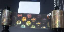 ID Card Printers Holographic Overlay