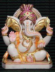 Ganesha Marble Idol