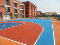 Synthetic Basketball Court Construction  Service