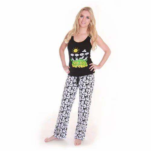 Ladies NightWear - Ladies Pyjama Manufacturer from Tiruppur 3cfeb0760