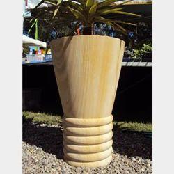 Teak Sandstone Planter
