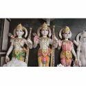 Colorful Ram Darbar In White Stone