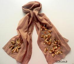 Heavy Embroidered Scarves