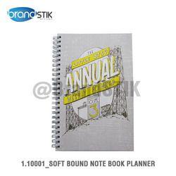 Soft Bound Note Book Planner